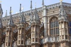 Abadía de Westminster, una del templo anglicano más importante, Londres, Reino Unido Fotografía de archivo libre de regalías