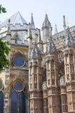 Abadía de Westminster, una del templo anglicano más importante, Londres, Reino Unido Fotografía de archivo