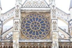 Abadía de Westminster, una del templo anglicano más importante, Londres, Reino Unido Imágenes de archivo libres de regalías