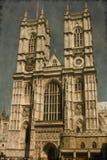 Abadía de Westminster - vintage Imágenes de archivo libres de regalías