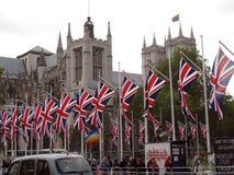 Abadía de Westminster Wedding real Imágenes de archivo libres de regalías