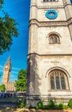 Abadía de Westminster y Big Ben, Londres Foto de archivo libre de regalías