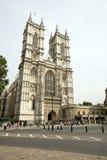 Abadía de Westminster y cielo azul Foto de archivo