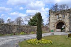 Abadía de Whalley Imágenes de archivo libres de regalías