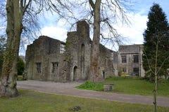 Abadía de Whalley Fotos de archivo