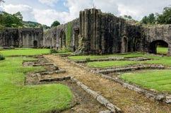 Abadía de Whalley en Lanchashire, Inglaterra Fotografía de archivo libre de regalías