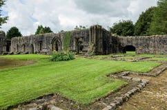Abadía de Whalley en Lanchashire, Inglaterra Fotos de archivo