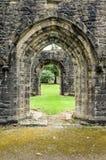 Abadía de Whalley en Lanchashire, Inglaterra Fotografía de archivo