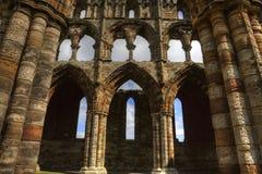 Abadía de Whitby Fotografía de archivo libre de regalías