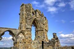 Abadía de Whitby Imagen de archivo libre de regalías