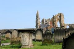 Abadía de Whitby Imágenes de archivo libres de regalías