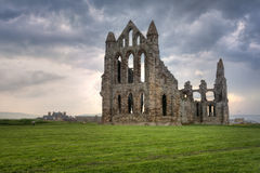 Abadía de Whitby, Inglaterra Fotografía de archivo