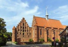 Abadía de Wienhausen, Alemania Fotografía de archivo libre de regalías