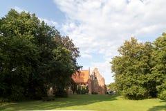 Abadía de Wienhausen cerca de Celle, Alemania Imagenes de archivo