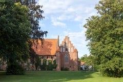 Abadía de Wienhausen en Celle, Alemania Imagen de archivo libre de regalías