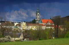 Abadía de Zwettl Imágenes de archivo libres de regalías