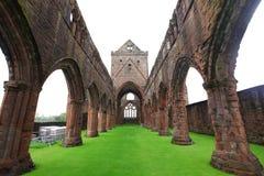 Abadía del amor, monasterio cisterciense arruinado Foto de archivo