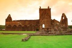 Abadía del amor, monasterio cisterciense arruinado Fotos de archivo