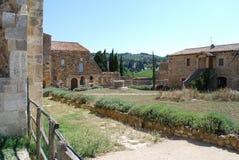 Abadía del ` Antimo de Sant Foto de archivo