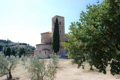 Abadía del ` Antimo de Sant Fotos de archivo