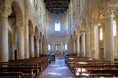 Abadía del ` Antimo de Sant en Montalcino, Toscana, Italia Fotos de archivo