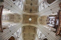 Abadía del baño, baño, Inglaterra El fan del siglo XVII saltó techo Imagen de archivo