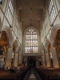 Abadía del baño en baño Fotografía de archivo libre de regalías