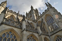 Abadía del baño en el sur al oeste de Inglaterra Foto de archivo