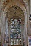 Abadía del baño en el sur al oeste de Inglaterra Fotografía de archivo