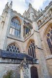 Abadía del baño en el sur al oeste de Inglaterra Imagenes de archivo