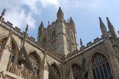 Abadía del baño en Inglaterra Imagen de archivo
