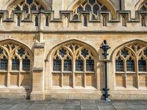 Abadía del baño en Inglaterra Foto de archivo