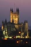Abadía del baño en la ciudad del baño - Reino Unido Fotografía de archivo