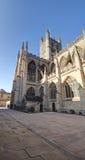 Abadía del baño en Somerset Fotos de archivo
