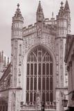 Abadía del baño, Inglaterra Foto de archivo
