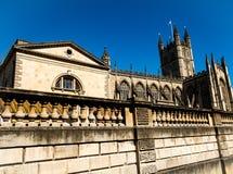 Abadía del baño, Reino Unido Imagenes de archivo