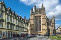 Abadía del baño, Somerset, Inglaterra Imagen de archivo libre de regalías