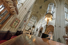Abadía del baño, Somerset, Reino Unido Fotos de archivo
