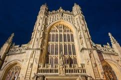 Abadía del baño, Somerset, Reino Unido Fotos de archivo libres de regalías