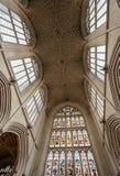Abadía del baño, Somerset, Reino Unido Fotografía de archivo libre de regalías
