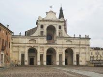 Abadía del benedetto Po Mantua Italia de Polirone San Imagen de archivo libre de regalías