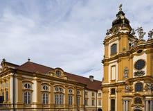 Abadía del benedictino de Melk Fotografía de archivo libre de regalías