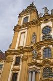 Abadía del benedictino de Melk Foto de archivo libre de regalías