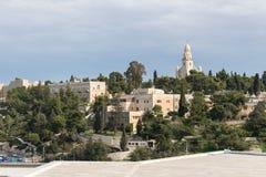 Abadía del Dormition en Jerusalén Imagen de archivo