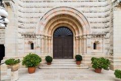 Abadía del Dormition en Jerusalén Fotos de archivo libres de regalías