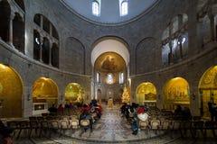 Abadía del Dormition en Jerusalén Fotos de archivo