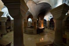 Abadía del Dormition en Jerusalén Imagenes de archivo