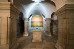 Abadía del Dormition en Jerusalén Imágenes de archivo libres de regalías
