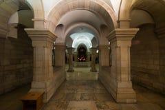 Abadía del Dormition en Jerusalén Fotografía de archivo libre de regalías