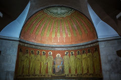 Abadía del Dormition en Jerusalén Imagen de archivo libre de regalías